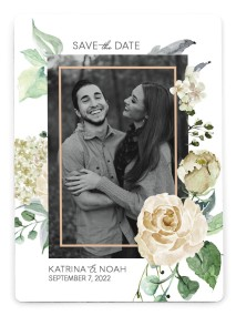 Divine Romance Save the Date Magnets