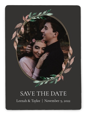 Eternal Autumn Save the Date Magnets