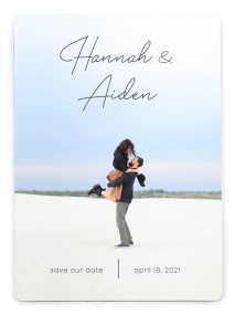 Watercolor Rapture Save the Date Magnets