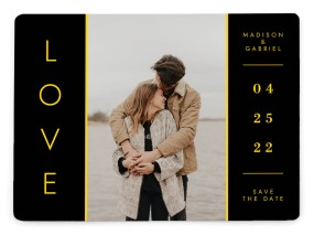 Cozy Love Save the Date Magnets