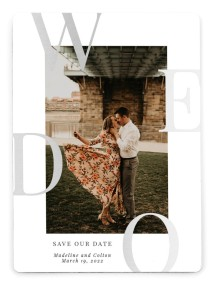 Boldly We Do Save the Date Magnets