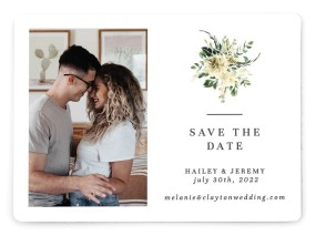 Honest Bouquet Save the Date Magnets