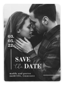 For Eternity Save the Date Magnets