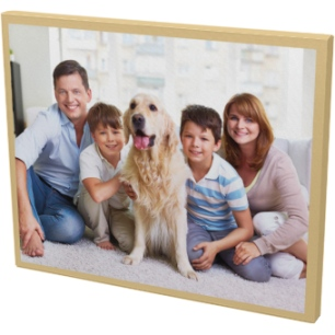 Full Photo Color Border Canvas Prints