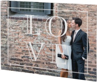 Love Simply Wedding Canvas Prints