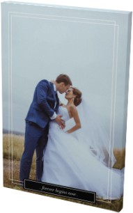 Forever Begins Now Wedding Canvas Prints