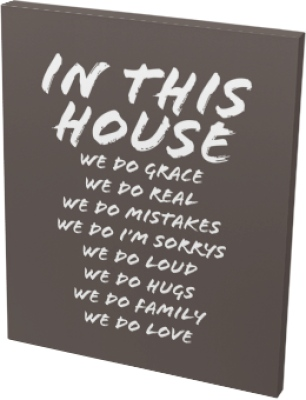 House Rules Canvas Prints