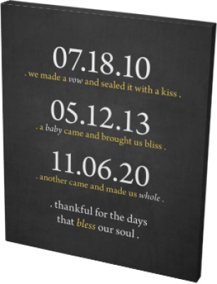 Bless Our Soul Canvas Prints
