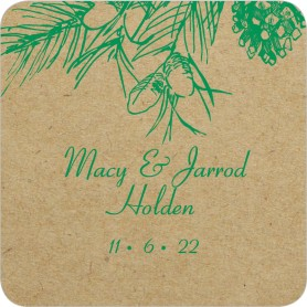 Everlasting Love Wedding Coasters