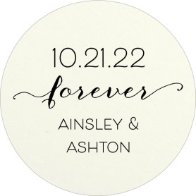 Simply Forever Wedding Coasters