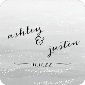 Beyond the Shore Wedding Coasters
