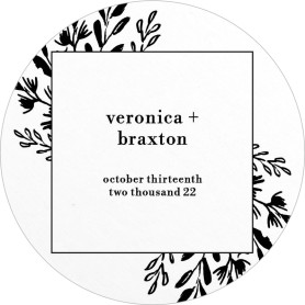 Perfect Picture Wedding Coasters