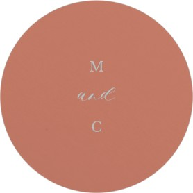 Natural Love Wedding Coasters