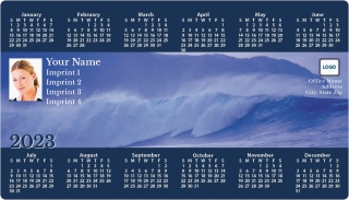 Ocean Wave Full Magnet Calendars