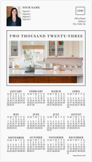 Open Plan Full Magnet Calendars