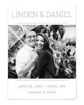 Sweetly Charmed Save the Date Magnets