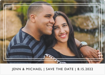 On My Mind Save the Date Magnets