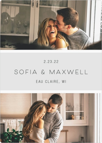 Splendid Moment Save the Date Magnets