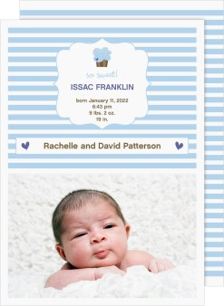 So Sweet Birth Announcement Cards