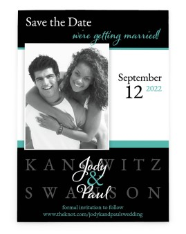 Perfect Promise Save the Date Cards