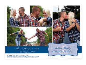 Enchanted Encounter Save the Date Cards