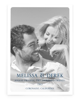 Love's Anchor Save the Date Cards