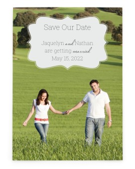 Promise to Love Save the Date Cards