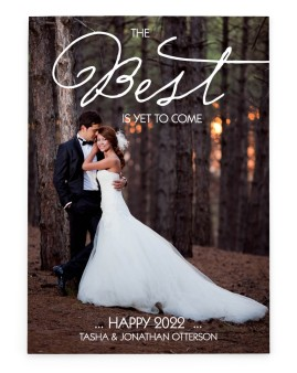 Best Christmas Yet Wedding Christmas Cards