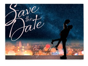 Enchanted Day Save the Date Cards