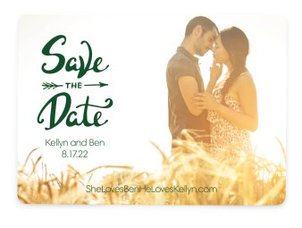 To Forever Save the Date Cards