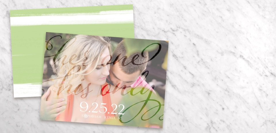 Save the Date Card Front
