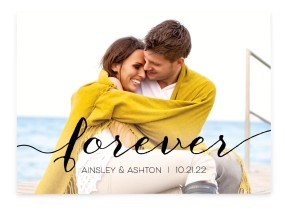 Simply Forever Save the Date Cards
