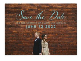 Waiting for You Save the Date Cards