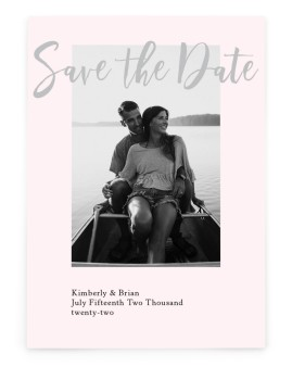 Adjoining Love Save the Date Cards