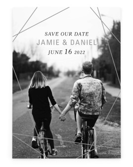 Starcrossed Love Save the Date Cards