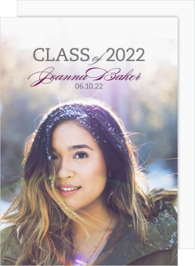 Grand Success Graduation Announcement Cards