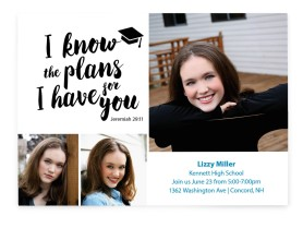 Big Plans Graduation Announcement Cards