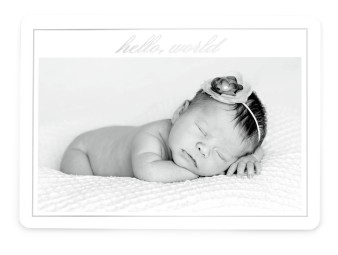 Lovely Sight Birth Announcement Cards