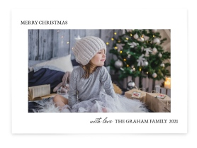 Starry Christmas Christmas Cards