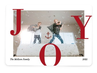 Family Joy Christmas Cards