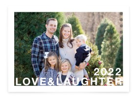 Love & Laughter Christmas Cards