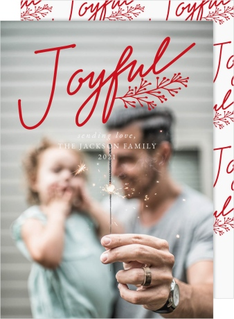 Joyful Boughs Christmas Cards