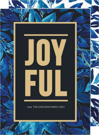 Joyful Glam Christmas Cards