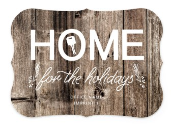 Home is the Key Business Holiday Cards