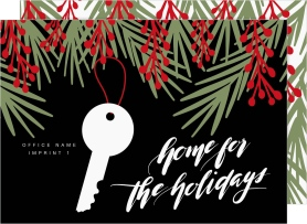 Home Sweet Holiday Business Holiday Cards