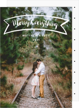 Everything Banner Christmas Cards