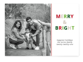 Bright Moments Christmas Cards