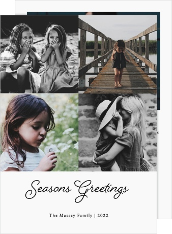 Seasons of Blessings Christmas Cards