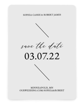 Magical Love Save the Date Cards