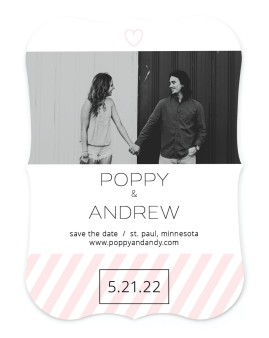 Love at Last Save the Date Cards